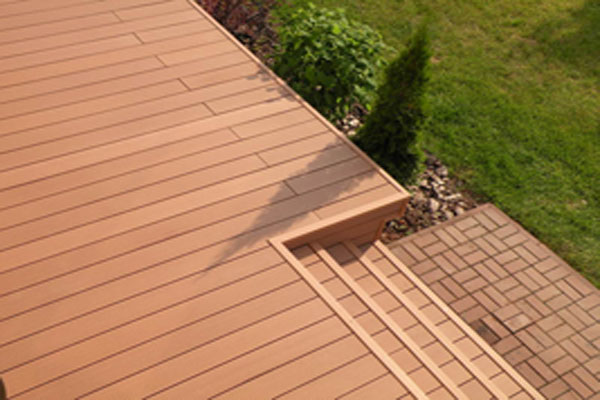 Wpc deck flooring for Wpc decking