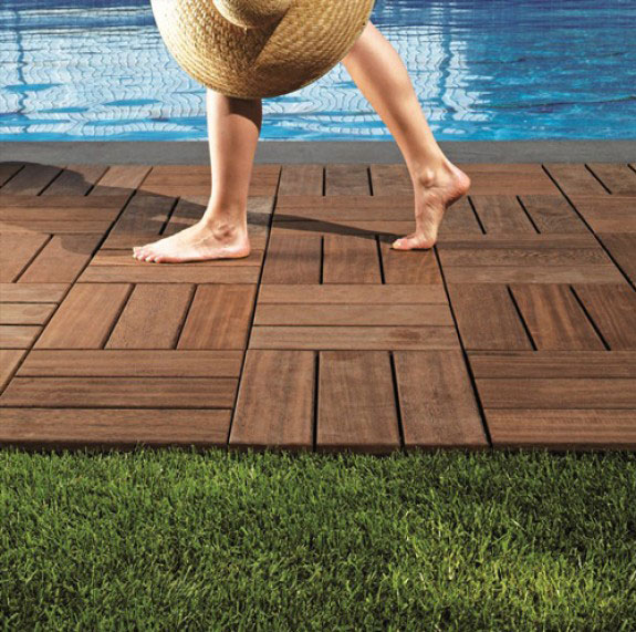 Walkon wood flooring deck floors for Outdoor timber flooring